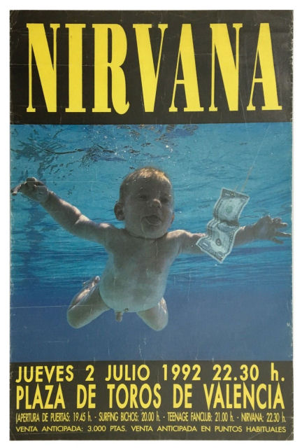 Nirvana Memorabilia – We Buy Your Nirvana Items